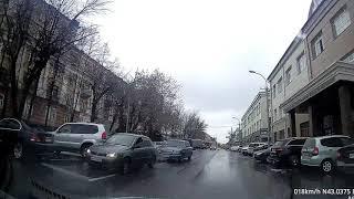 Крутой парень на тонированной Оке... Осетия - Владикавказ - Тамаева - Джанаева