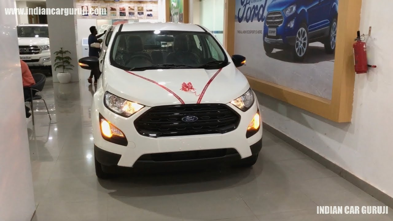 ford ecosport  base model ambiente full review ecosport base model youtube