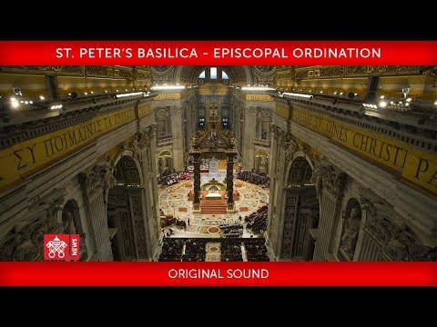 St. Peter's Basilica - Episcopal Ordination 2019-10-04