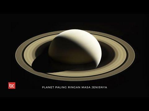 Fakta Menarik Planet Saturnus, Planet Paling Ringan