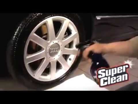 SuperClean - Dissolves Grease  Super Easy  Super Fast