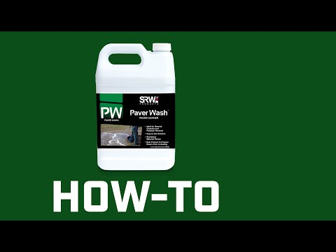 How To Clean Pavers With SRW PW or EF Paver Clean