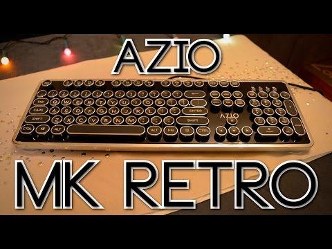 Most Unique Keyboard? • Azio MK Retro • Unboxing