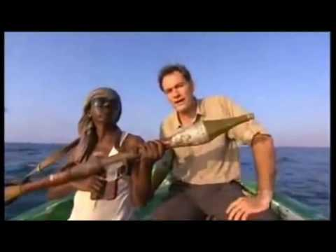 Russians having fun with Somali pirates