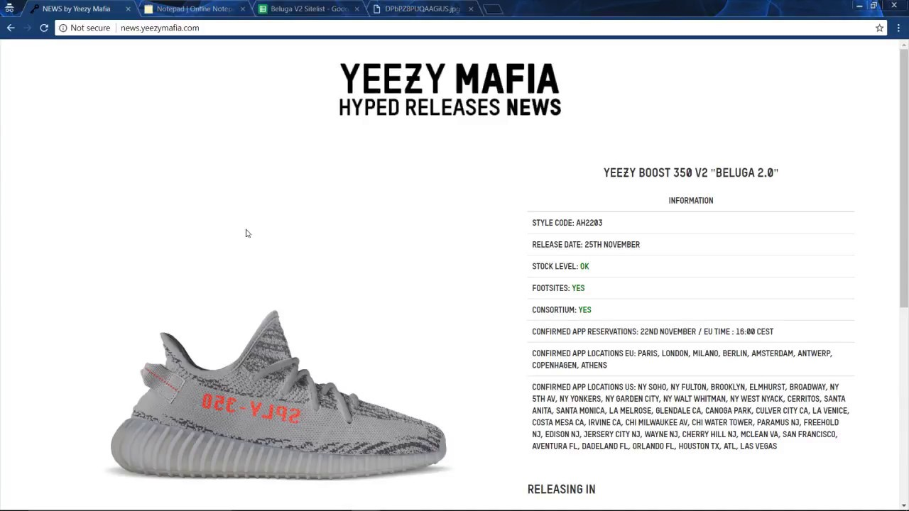 03879ef16 EASIEST WAY How To Cop The Adidas Yeezy Boost 350 V2 Beluga 2.0 ...
