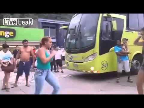 2 Brazilian Women Engage In Street Fight