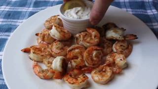 Food Wishes Recipes - Grilled Shrimp With Lemon Aioli Recipe - Grilled Shrimp Recipe With Cured Lemon Aioli