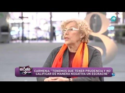 Entrevista completa de Manuela Carmena, alcaldesa de Madrid, para 'El Gato al Agua'