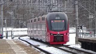 Double decker ESH 2 Train - 12.01.2020