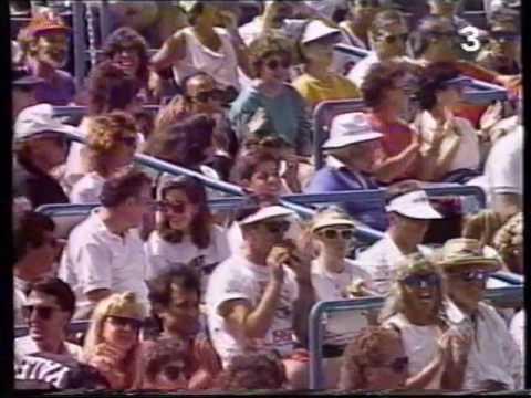 US Open 1991, Jimmy Connors-Aaron Krickstein