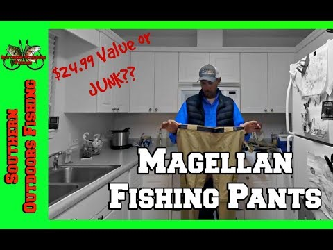 Magellan Outdoor Back Country Zipoff Nylon Fishing Pants Review