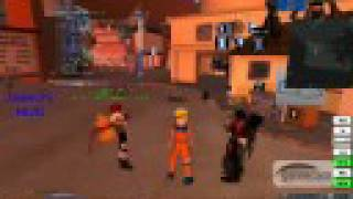 Naruto adventures in Second Life RP MMO
