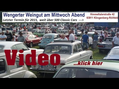 Wengerter Vineyard Classic Car Show