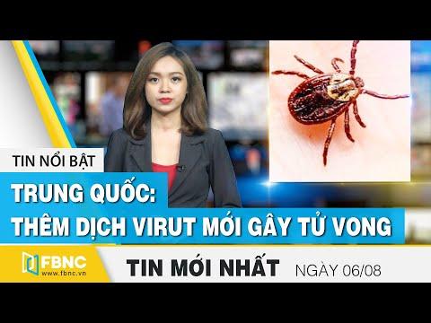 Tin tức | Bản tin trưa 6/8 | Trung Quốc: Bùng dịch virut họ Bunya có khả năng gây tử vong cao | FBNC