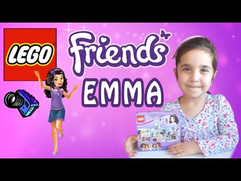 LEGO Friends 41115 Творческая мастерская Эммы.  Lego Friends Emma