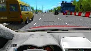 Шашки по Городу - City Car Driving - Первый Взгляд