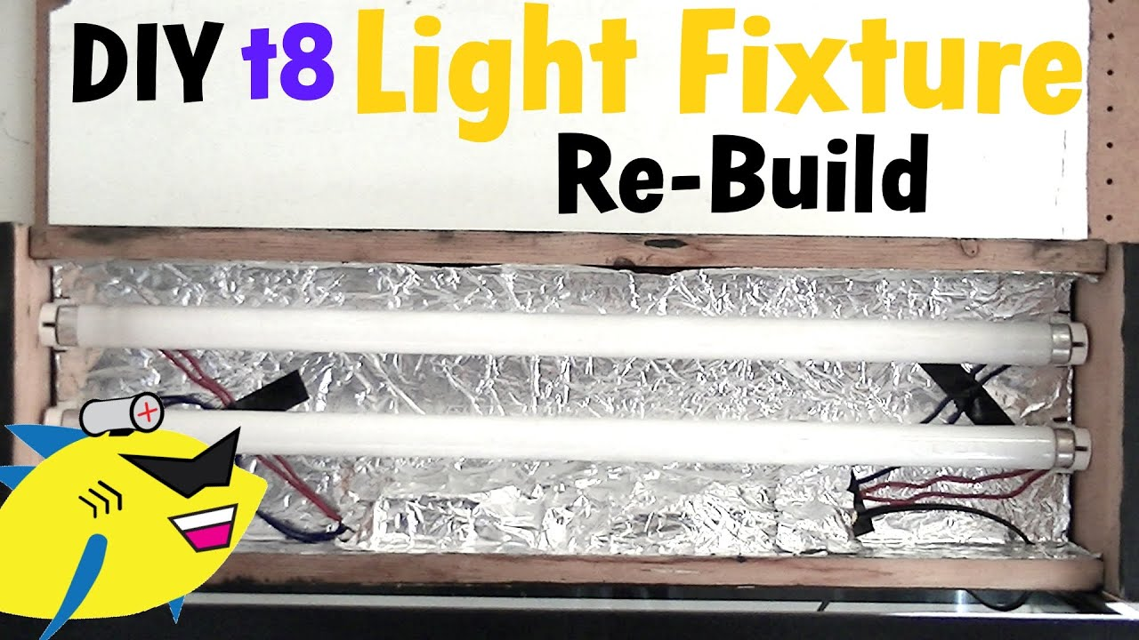 How to make diy aquarium light t8 light fixture build youtube its youtube uninterrupted arubaitofo Image collections