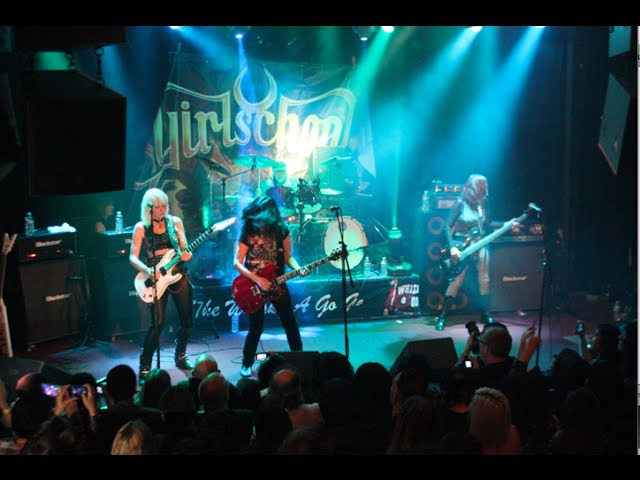 Girlschool - C'Mon Let's Go - Live at the Whisky a go go