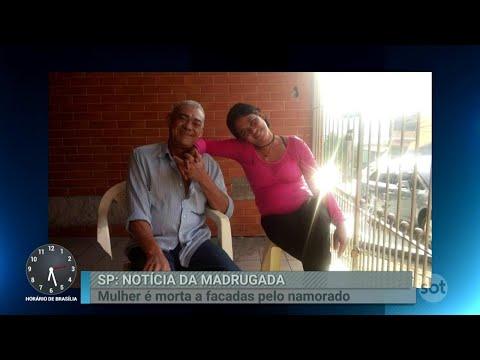 Mulher é morta a facadas pelo namorado bêbado | Primeiro Impacto (24/08/18)