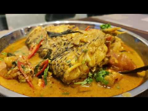 Malaysian Fish Head Curry 咖喱鱼头