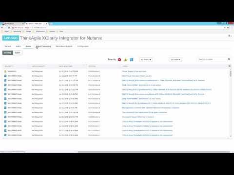Lenovo ThinkAgile XClarity Integrator for Nutanix