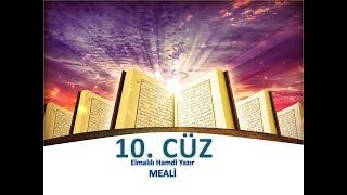 Kur'an Meali 10.Cüz - Yusuf Ziya Özkan - M. Elmalılı Hamdi Yazır