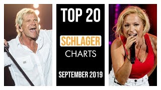 TOP 20 SCHLAGER CHARTS ♫ SEPTEMBER 2019