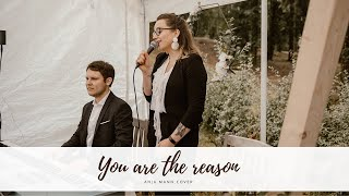 You are the reason | Calum Scott Cover
