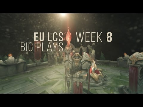 EU #LCSBIGPLAYS Week 8 | Community Collaboration