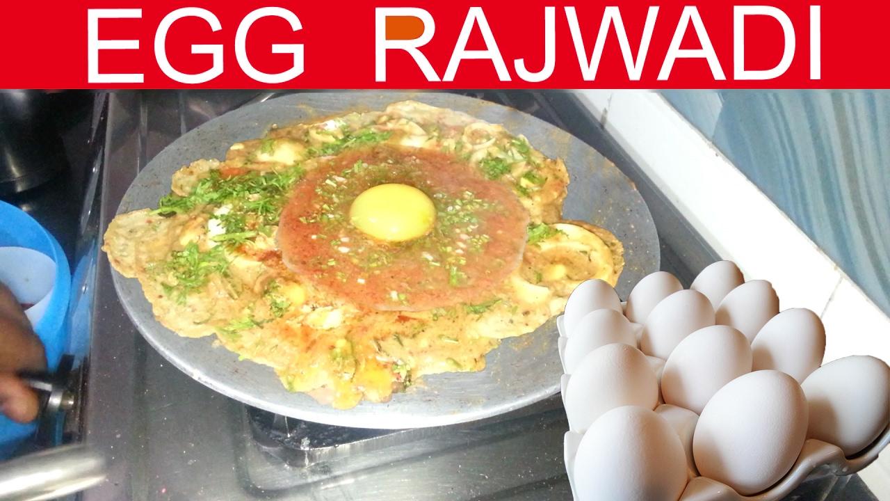 Egg Rajwadi With Tadkaa Full Egg Recipe Indian Street Food Youtube