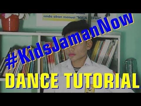 KIDS JAMAN NOW DANCE TUTORIAL