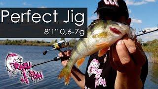 Обзор Спиннинга для Микроджига Perfect Jig от Crazy Fish.