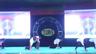 SIX STAR GROUP / FREE STYLE WITH BHANGRA DANCE  / CHOREOGRAPHY RAHUL SHAH / FIRST TIME IN KHANNA