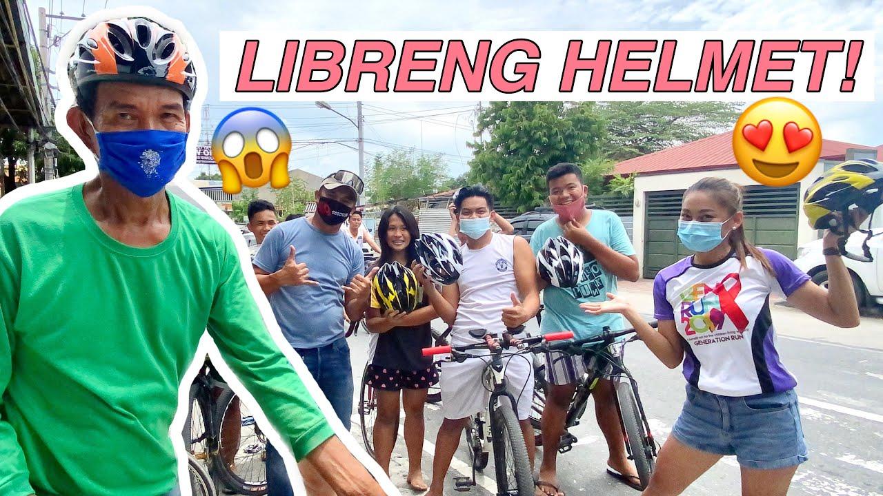 BIGYAN NG HELMET YAN! | HELMET WINNERS by Aira Lopez