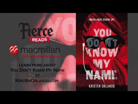 YOU DON'T KNOW MY NAME by Kristen Orlando (Book Trailer)