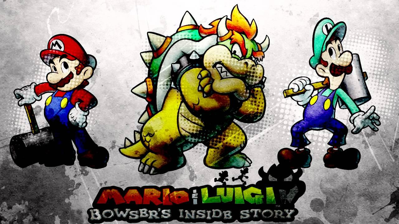 Mario Luigi Bowser S Inside Story Final Battle Vs Dark