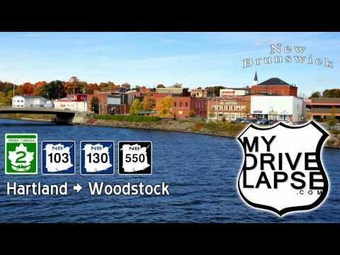 Hartland to Woodstock, New Brunswick: Trans Canada Highway 2