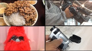納豆食べ放題のせんだい屋/携帯顕微鏡/キャノンプラザ品川/人生相談 thumbnail