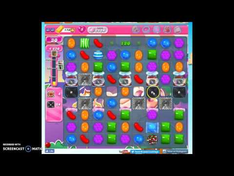 Candy Crush Level 2134 help w/audio tips, hints, tricks