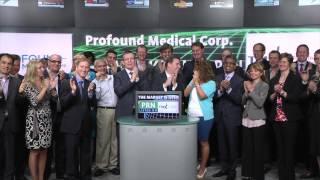 Profound Medical Corp. (TSXV:PRN) opens Toronto Stock Exchange, June 15, 2015