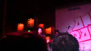 Andy Grammer intro to Keep Your Head Up -- Houston, TX