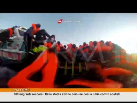 800 migranti soccorsi, Italia studia azione comune con la Libia contro scafisti [TgMed 13/01/2017]