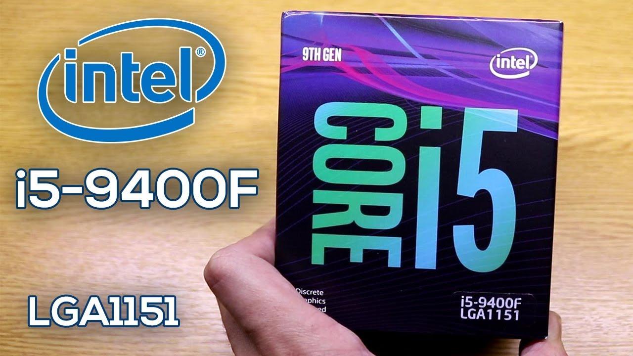 UNBOXING Intel Core i5-9400F 2.9Ghz Base - 4.10Ghz Turbo, en Español!
