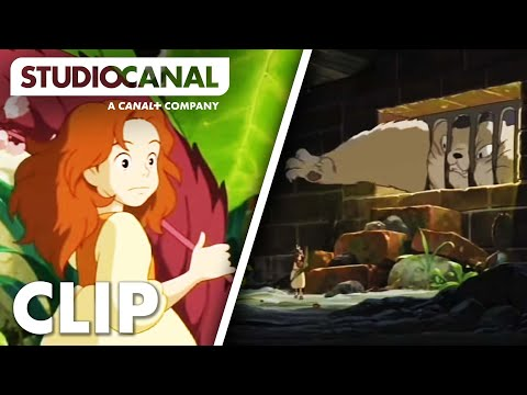 ARRIETTY - Escaping the Cat - Film Clip