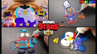 Brawl stars Animation,Pancake …