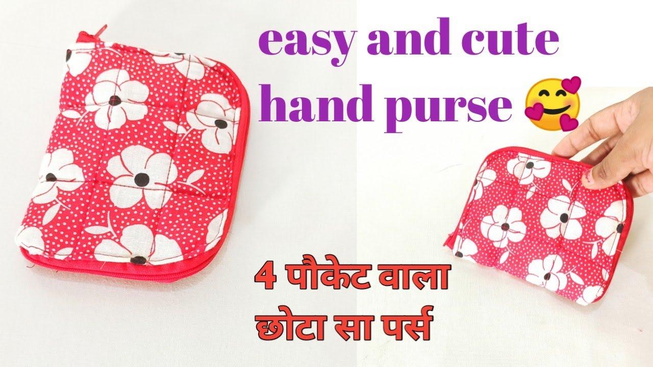 Very easy hand purse/Bag/ Ladies purse/Handbag/ Coin Purse/zipper handbag/mobile phone ka purse