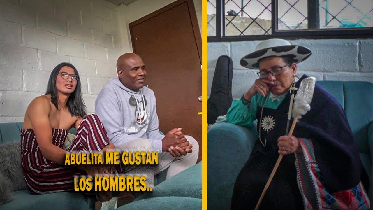 ME GUSTAN LOS HOMBRES Y TENGO NOVIO (BROMA A MI ABUELITA)