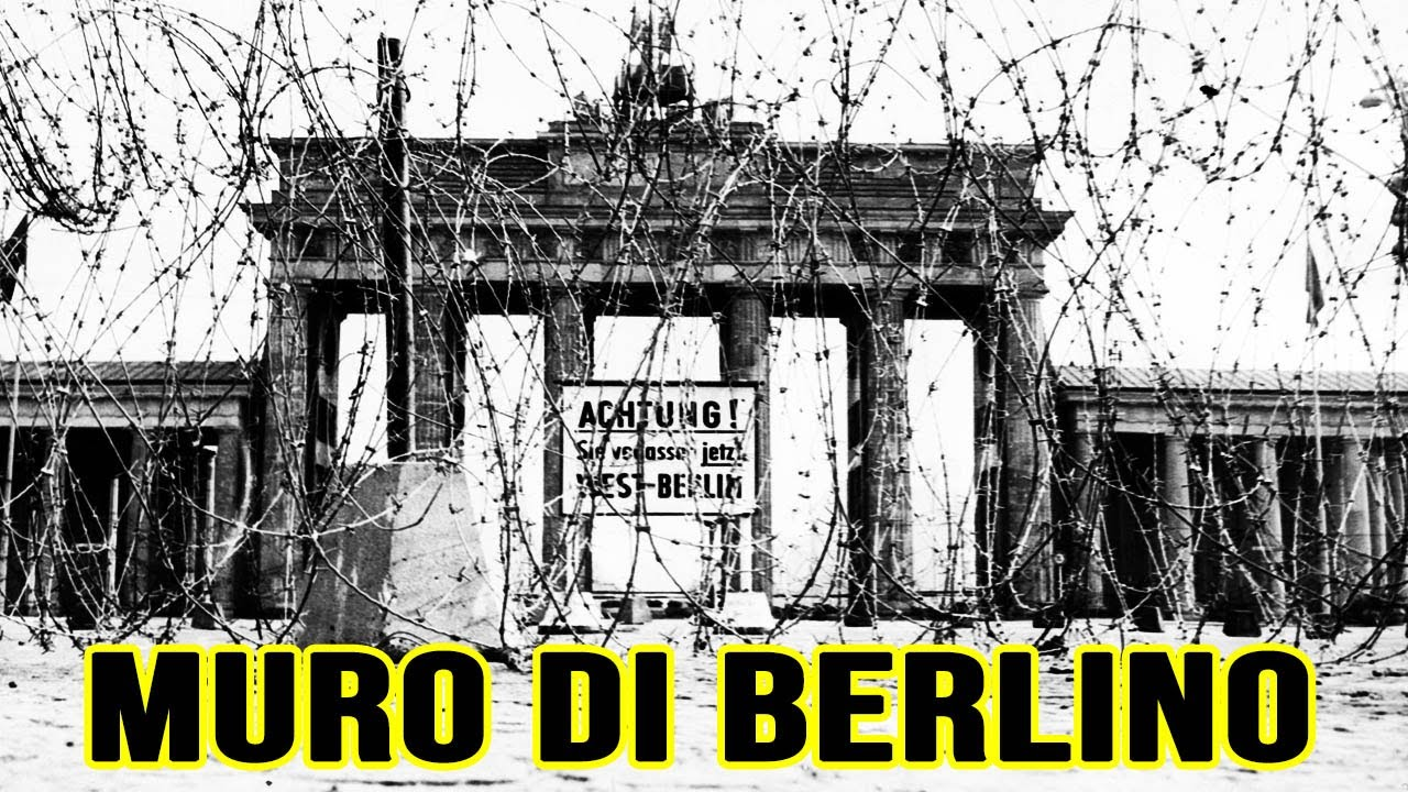 Muro Di Berlino La Storia In 2 Minuti Youtube