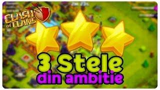 3 stele din ambitie | Clash of Clans Romania