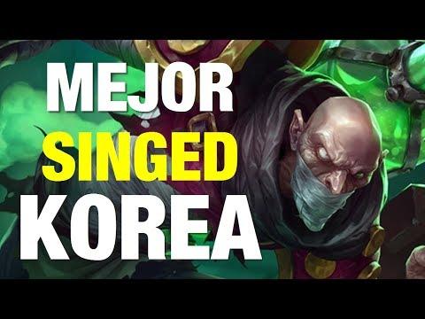 EL MEJOR SINGED DE KOREA - CASI 60% DE WINRATE! OP!
